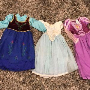 Other - 3 princess dresses